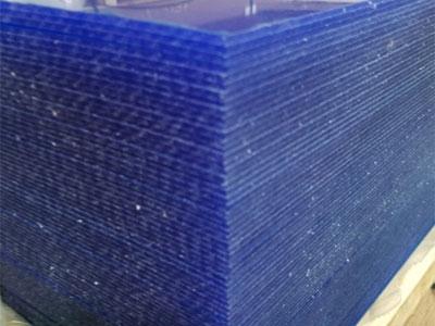 Corrugated Plastic Acrylic Panels